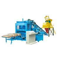 Qty4-15 Interlocking Paver Block Making Machine ZCJK