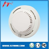 Smoke sensor detector with 9V battery operated / 12V DC optional  smoke detector