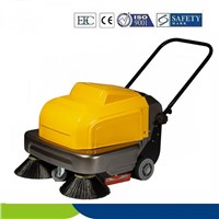 walk behind floor cleaning machine vaccum industrial sweeper