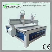 manufacturer steel gantry two spindle cnc router iGW-1325