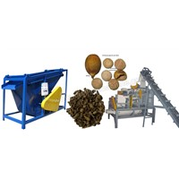(1000kg/h)Large Unit of Palm Kernel Shelling and Separating Machine