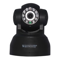 Family Security  Alarm Wanscam JW0009 SD card Wireless IP Camera