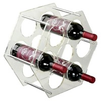 Customized Design Clear Acrylic Wine Display