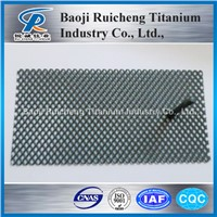 MMO coated Titanium anode Hot Sale of baoji ruicheng