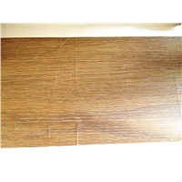 Wood grain heat transfer printing film