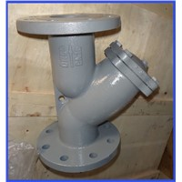 Stainless steel screwed Y strainer for Pipeline cleaning ,stainless steel screen