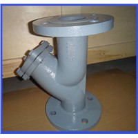 BS2080 Flange Type Cast Iron Y Strainer