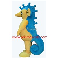 seahorse mascot costume ocean animal mascot made