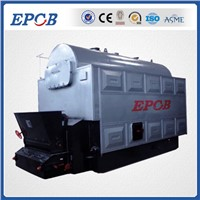 Coal biomass fired hot water boiler steam boiler
