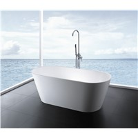 solid surface stone bathtub