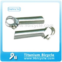 titanium bicycle bar end