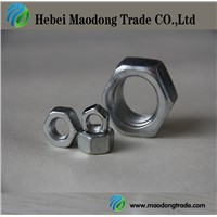 zinc plated/galvanized DIN934 Hex Nut