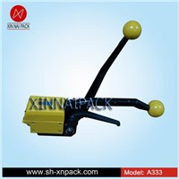 A333 hot sale manual sealess steel strapping tool of handheld