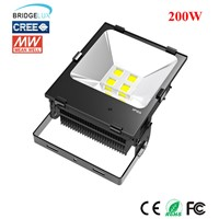 Bridgelux 200w ip65 high power LED flood light