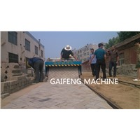 GF-1.8 Small tiger stone Road brick laying machine