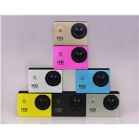2014 Popular Sport Action Camera S4000 Support 32G SD 1080P Full HD Waterproof Camera