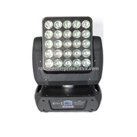 NEW 25pcs*12W CREE RGBW 4IN1 Array  Moving Head Matrix Light ,LED Moving Head Light