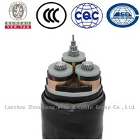 33kV XLPE 240sqmm, Cu Power cable