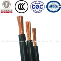 95mm2 H01N2-D copper conductor rubber flexible welding cable