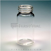 V217, Screw-thread 20ml vial, Clear