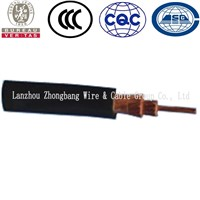 tinned coppers conductor rubber flexible welding cable