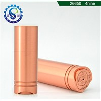 China supplier High quality low price ecig 26650 4nine mod clone/ Copper 4nine Mod in stock