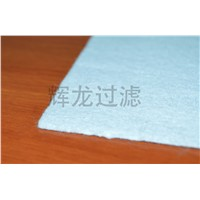 Filter fabric nonwoven felting needles ptfe roll membrane filter