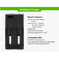 I2 e-cig battery charger 18650 AA charger
