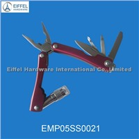 Hot sale Mini plier with torch & red handle (EMP05SS0021)