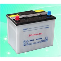 NS70L12V65AH Dry Car Battery