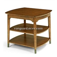 Wooden/Veneer Rectangle End Table