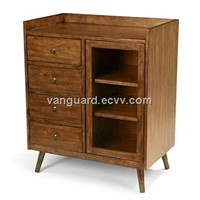 wood and venner Accent Chest