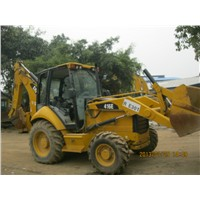 Used CAT 416E Backhoe Loader in High Quality