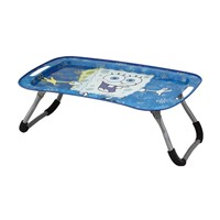metal tin tray table,tin tray with foldable feet,laptop table