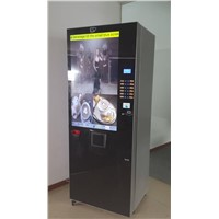 coffee vending machine with 42 inch led screen