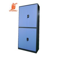 K/D Design Steel 4 Door Storage Kitchen Cabinet