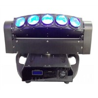 5PCS X 10W LED Moving Head Stage Lighting LED Color Mixing Effect Fixture DJ/Disco/Pub Light