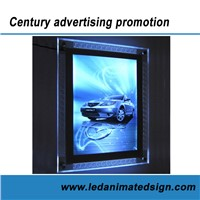 Led Acrylic display light box for advertising