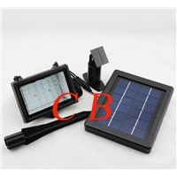 High quality outdoor solar led spot light with 30leds