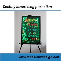Led menu writing board for indoor advertising