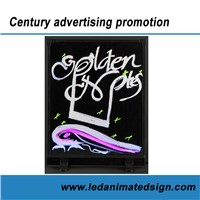 Colorful led advertising board for indoor