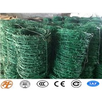 PVC Galvanized Barbed Wire Anping Factory