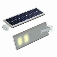 Integrated Solar Street Light With Motion Sensor Outdoor