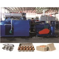 CE Standard Small Egg Tray Making Machine