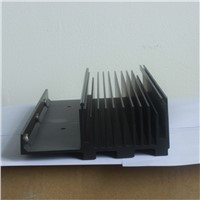 6063-T5 black anodized aluminum heat sink from Jiayun Aluminium