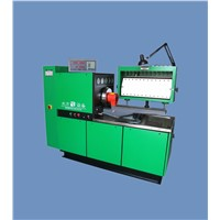 Diesel injection pump test bench with easy operation