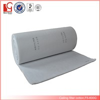 EU5 paint spray booth low resistance ceiling filter