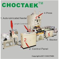 Full automatic 60T aluminum foil container making machine