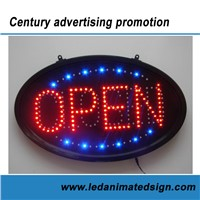 Led open / closed sign