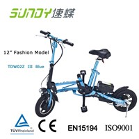 Mini folding electric bicycle(with Anodic Oxidation Treatment -black
